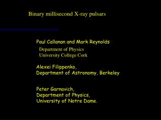 Binary millisecond X-ray pulsars