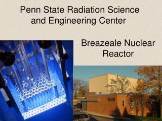 Breazeale Nuclear Reactor