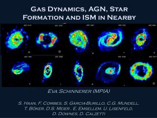 Gas Dynamics, AGN, Star Formation and ISM in Nearby Galaxies