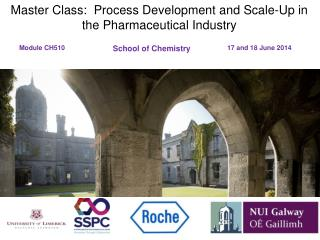 Master Class:  Process Development and Scale-Up in the Pharmaceutical Industry