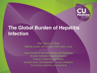 The Global Burden of Hepatitis Infection