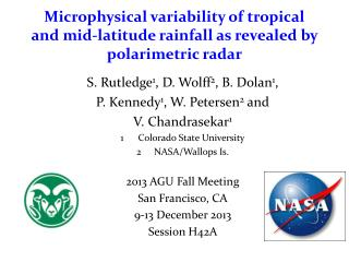 Microphysical variability of tropical and mid-latitude rainfall as revealed by polarimetric radar