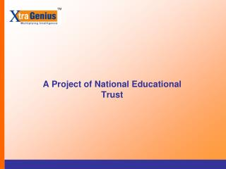 A Project of National Educational Trust