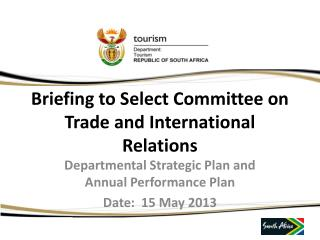Briefing to Select Committee on Trade and International Relations