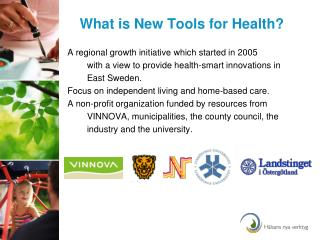 What is New Tools for Health?