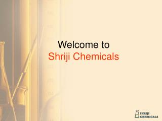 Welcome to Shriji Chemicals