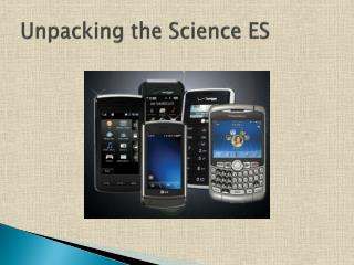 Unpacking the Science ES