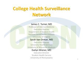 College Health Surveillance Network