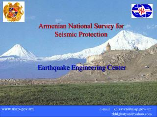 Armenian National Survey for Seismic Protection