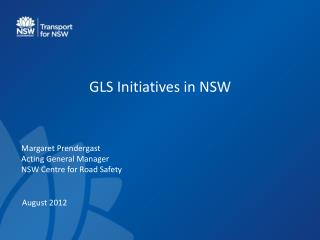 GLS Initiatives in NSW
