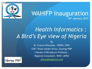 Health Informatics :  A Bird's Eye view of Nigeria