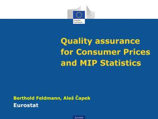 Quality assurance for Consumer Prices and MIP Statistics