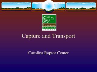 Capture and Transport