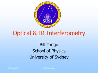 Optical & IR Interferometry
