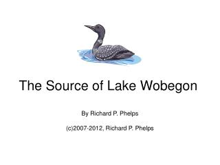 The Source of Lake Wobegon
