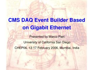 CMS DAQ Event Builder Based on Gigabit Ethernet
