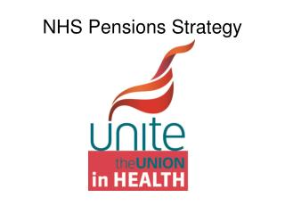 NHS Pensions Strategy