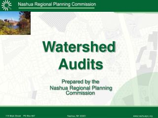 Watershed  Audits
