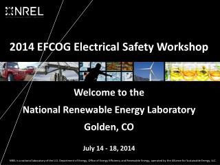 2014 EFCOG Electrical Safety Workshop