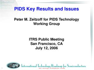 PIDS Roster