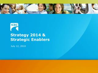 Strategy 2014 &  Strategic Enablers