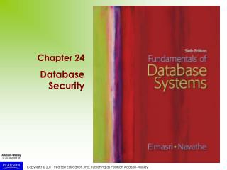 1 Introduction to Database Security Issues
