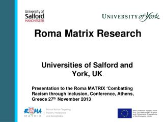 Roma Matrix Research
