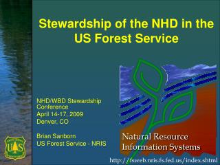 Stewardship of the NHD in the US Forest Service
