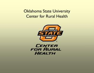 Oklahoma State University Center for Rural Health