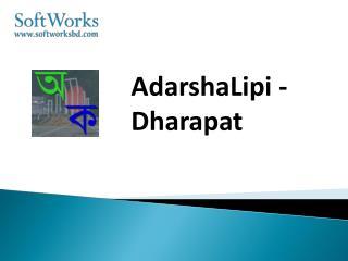 AdarshaLipi -Dharapat