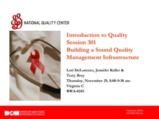 An Introduction to Performance Measurement for Quality Improvement