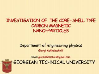 Department of engineering  physics