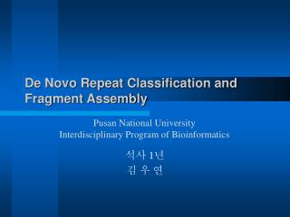 De Novo Repeat Classification and Fragment Assembly