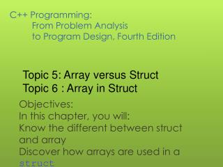 Ppt C Programming From Problem Analysis To Program Design