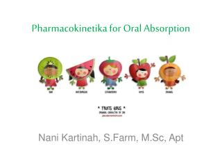 Pharmacokinetika for Oral Absorption