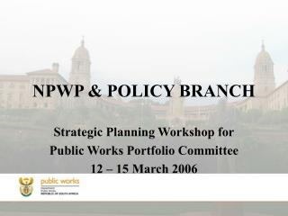 NPWP & POLICY BRANCH