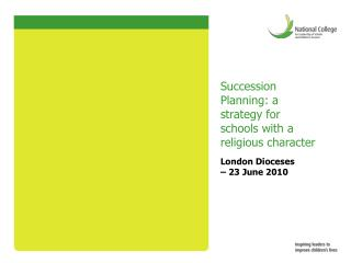 Succession Planning: a strategy for schools with a religious character