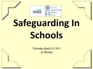 Safeguarding In Schools