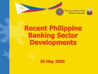 Recent Philippine Banking Sector Developments