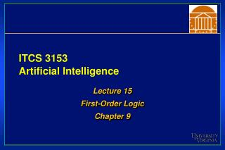 ITCS 3153 Artificial Intelligence