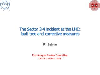 The Sector 3-4 incident at the LHC: fault tree and corrective measures