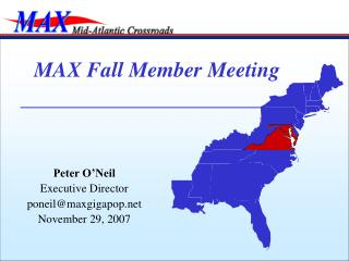 MAX Fall Member Meeting
