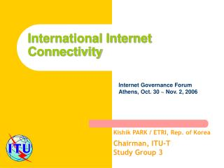 International Internet  C onnectivity