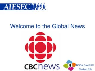Welcome to the Global News
