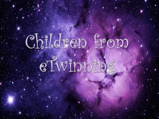 Children  from eTwinning