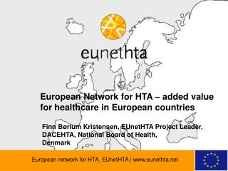 European network for HTA, EUnetHTA | eunethta