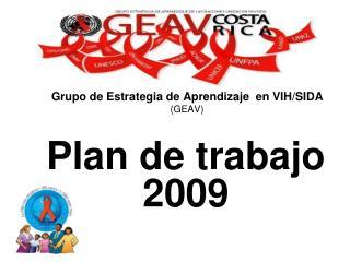 Grupo de Estrategia de Aprendizaje  en VIH/SIDA (GEAV)