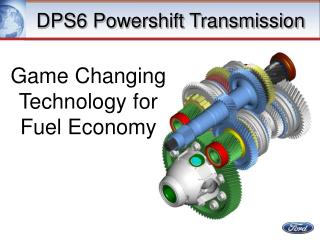 DPS6 Powershift Transmission