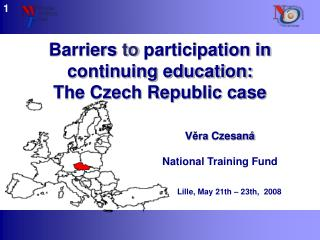 Barriers  to  participation in continuing education:  The Czech Republic case
