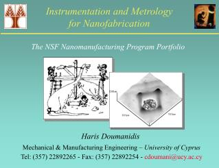 Instrumentation and Metrology  for Nanofabrication